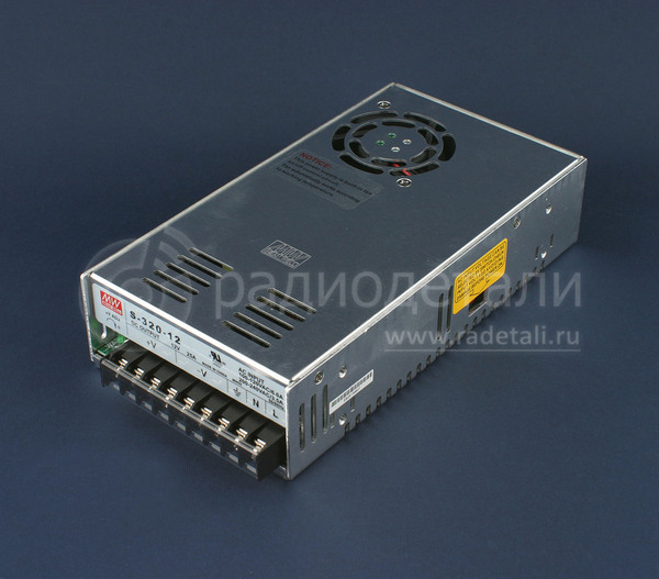 Блок питания 12V 25А 300W SP-320-12 Mean Well