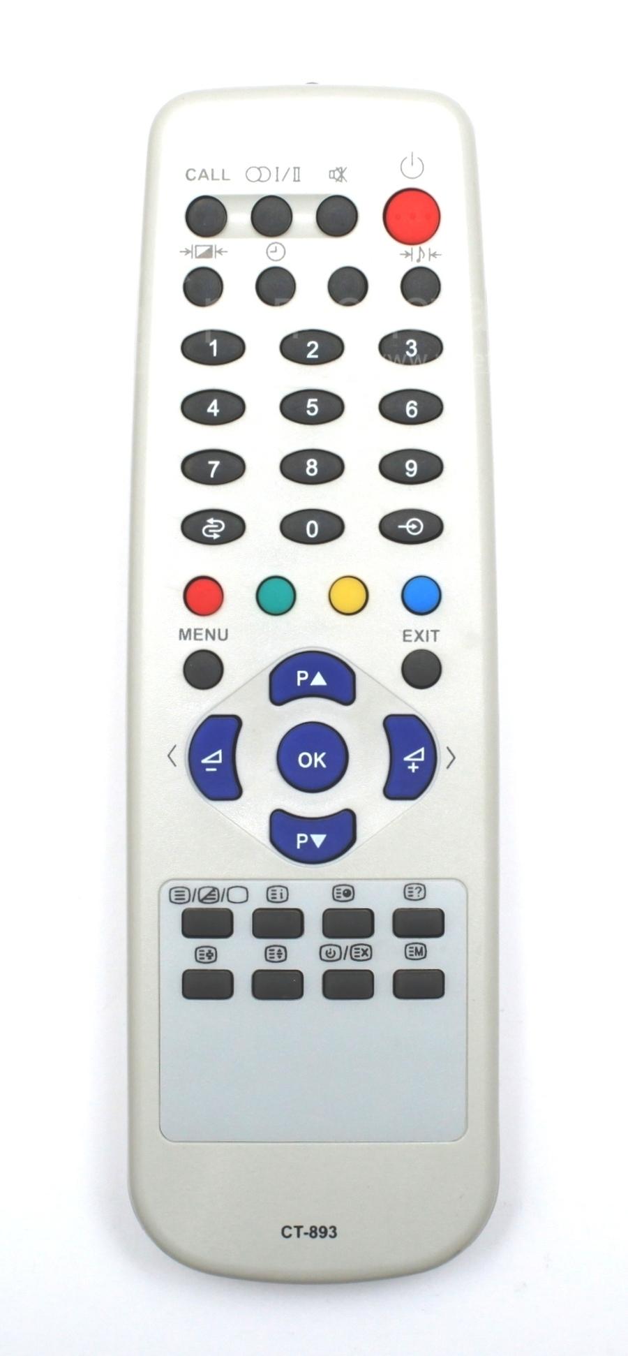 Схема пульта телевизора toshiba