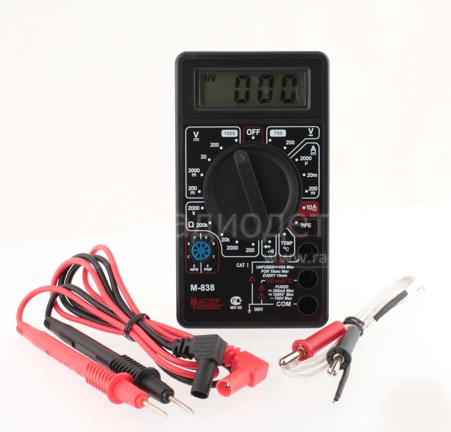 Мультиметр М-838 Master
