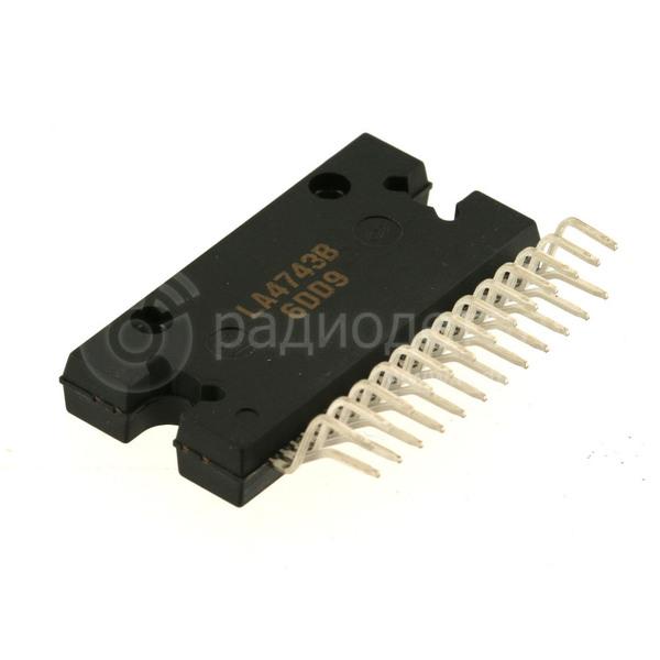Микросхема LA4743B.