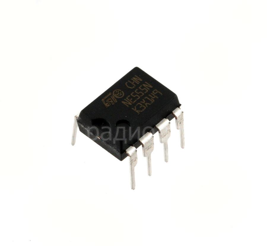 Микросхема NE555N (КР1006ВИ1: