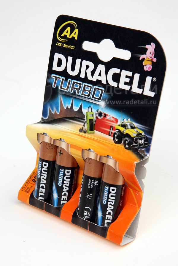 Элемент питания Duracell TURBO/ULTRA POWER LR6 BP4
